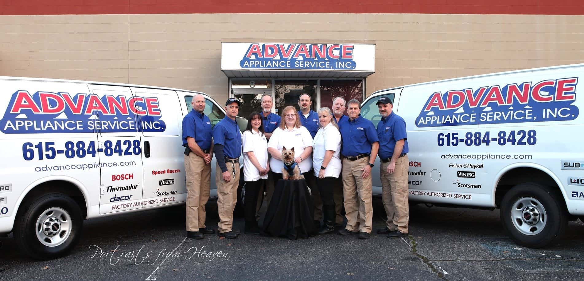 fleet and staff advance appliance repair