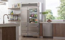 high end freestanding refrigerator