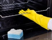 ways to clean an oven naturally