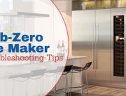 how to turn on sub zero ice maker