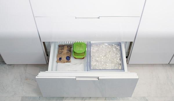 sub zero refrigerator ice maker not making ice