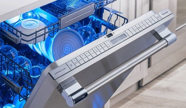 how to clean a thermador dishwasher