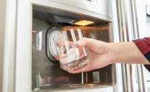 kitchenaid refrigerator water smells bad