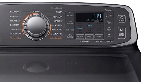 samsung dryer not spinning