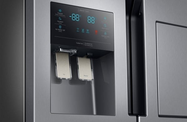 samsung refrigerator not dispensing water or ice